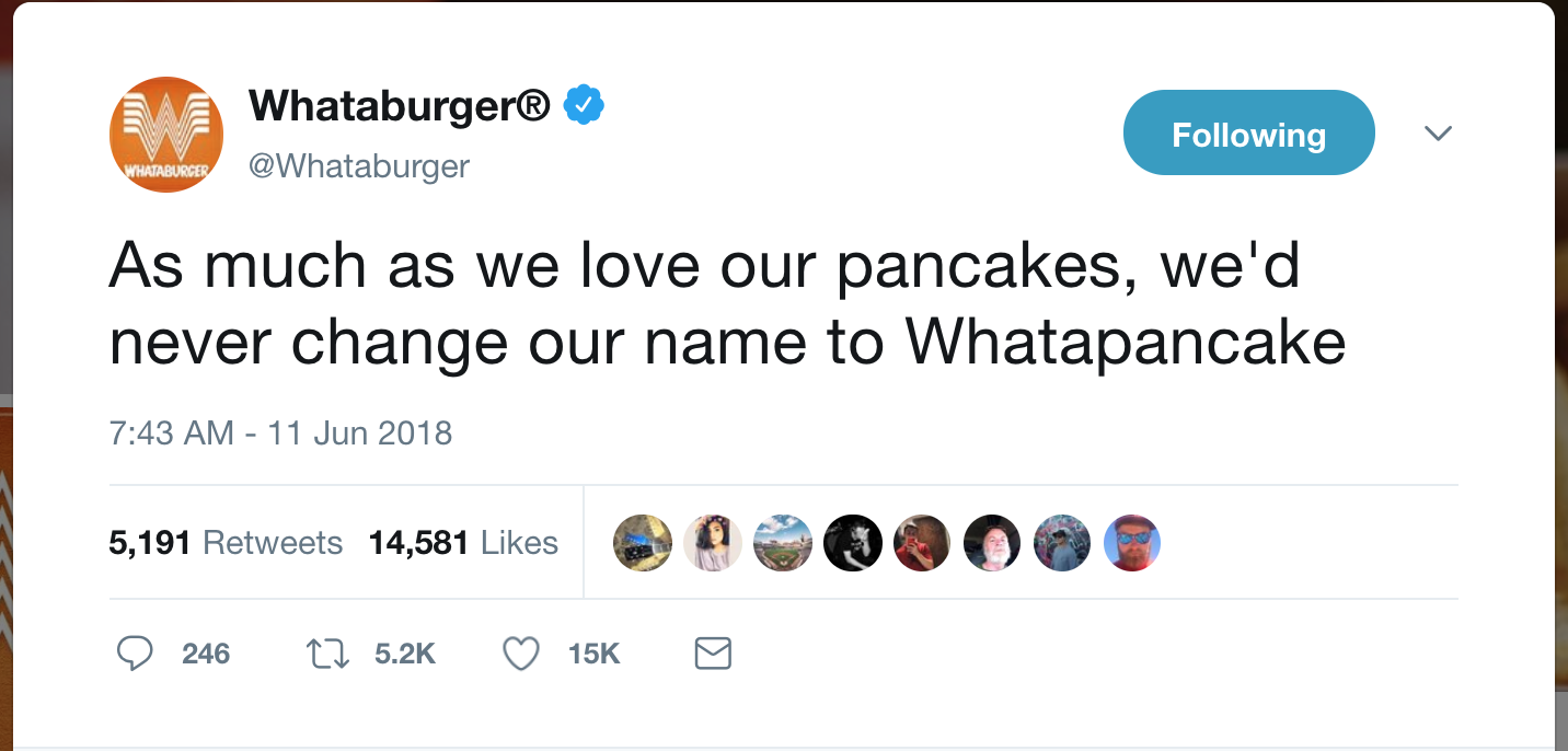 Whataburger throws shade at IHOP\'s name change - San Antonio Express ...