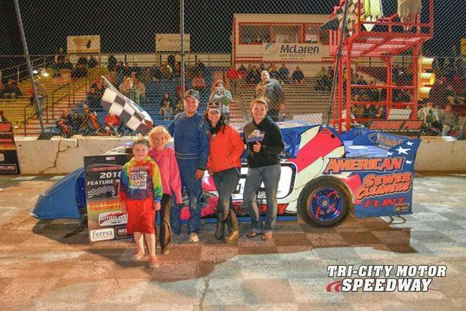 Nate Murphy won the Pro Stock Division at Tri-City Motor Speedway on Friday night.