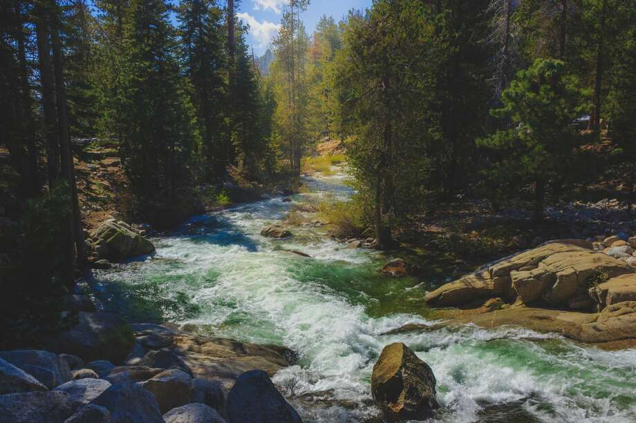 A file photo of the Kaweah River flowing Sequoia National Park. A 36-year-old Los Angeles man was reported swept down the middle fork of the Kaweah River on Sunday. Photo: Focqus, LLC/Getty Images/iStockphoto