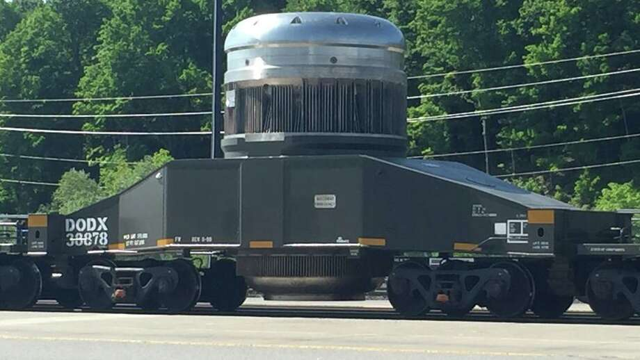 A highly robust shipping container like the one that will be used to transport some material for the refueling. Photo: Town Of Ballston