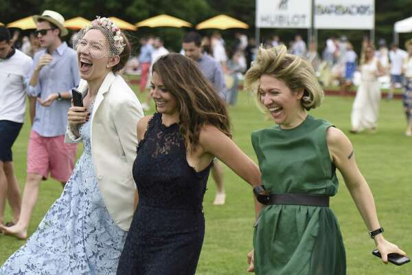 Photos from the season opening Shreve, Crump & Low Cup between Hawk Hill and Huntsman at the Greenwich Polo Club in Greenwich, Conn. Sunday, June 10, 2018.