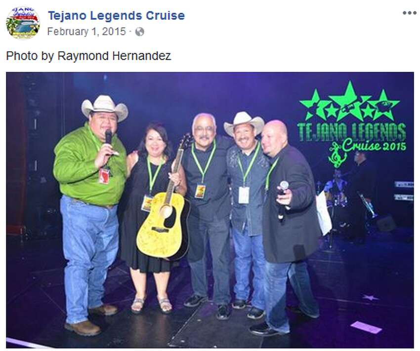 Organizers for the Tejano Legends Cruise were not available to return requests for comment, but photos posted on event's Facebook page show fun times aboard previous voyages.