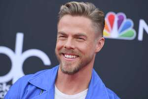 Derek Hough arrives at the Billboard Music Awards at the MGM Grand Garden Arena on Sunday, May 20, 2018, in Las Vegas. (Photo by Jordan Strauss/Invision/AP)