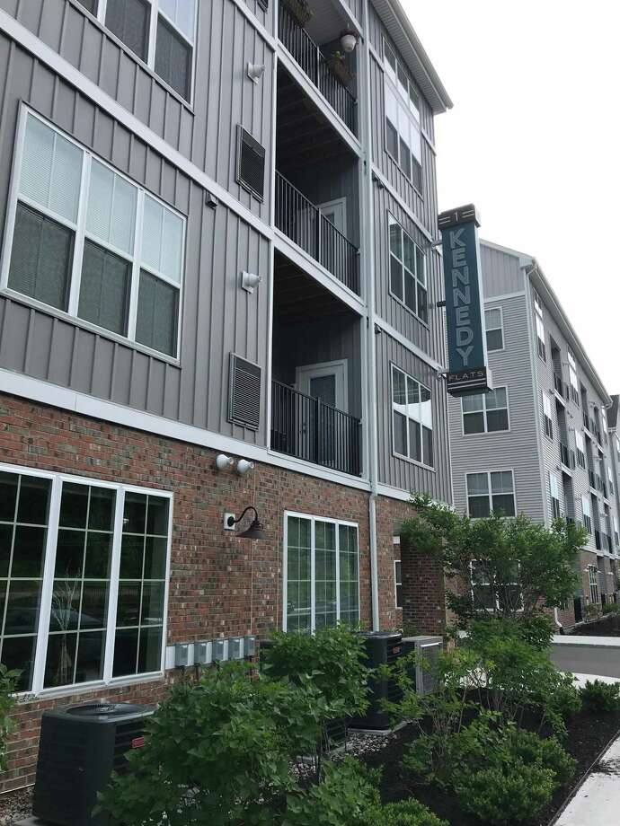 1 Kennedy Flats apartment complex in Danbury, Conn., on Monday, June 11, 2018. The complex sold for more than $86 million in May. Photo: Chris Bosak / Hearst Connecticut Media / The News-Times