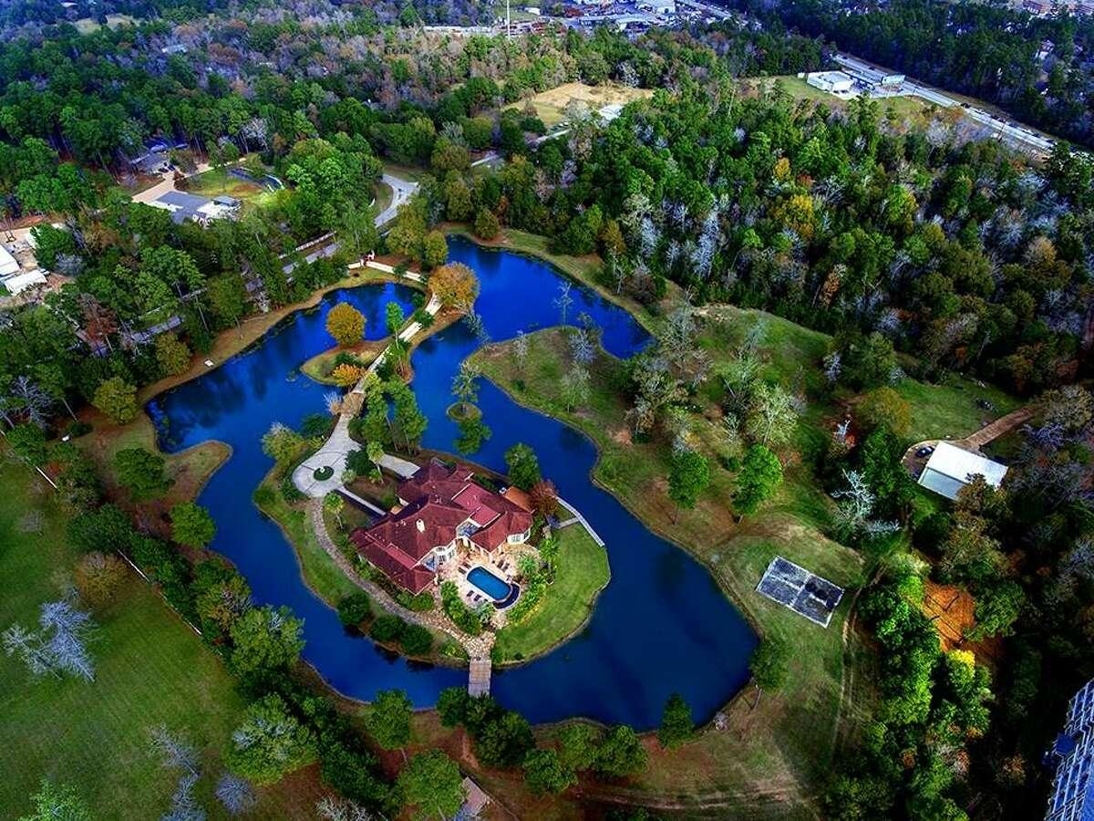 9011 Breckenridge Drive, Magnolia$3.1 million6 bedrooms, 5 full and 1 half baths10.76 lot acres$429.90 per square footSee the listing at HAR.com.
