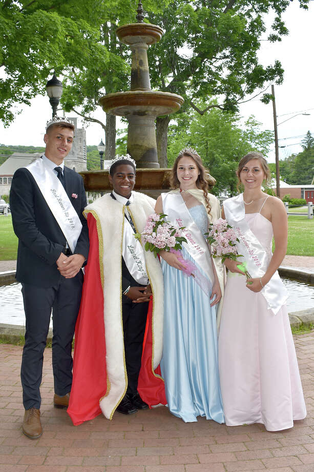 The annual Laurel Parade, king and queen crowning and past queens brunch reception took place in Winsted last weekend. Photo: Lara Green-Kazlauskas