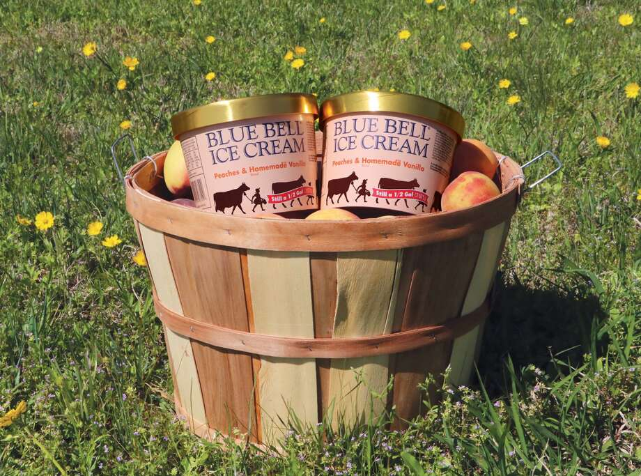 Blue Bell took to Twitter to announce the official return of their seasonal Peaches and Homemade Vanilla ice cream flavor.  >> See other Blue Bell favorites.   Photo: Blue Bell Twitter