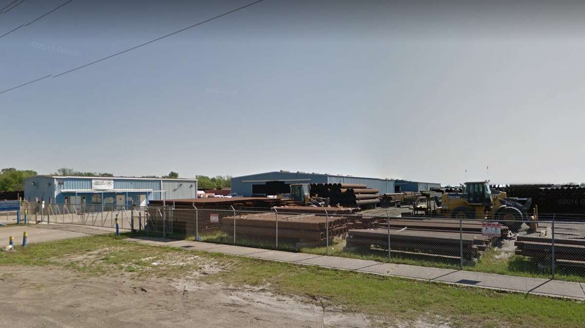 Pearland police said a worker was killed in an industrial accident on Friday, June 8, 2018 at Houston Tubulars, Inc. on Hatfield Road.