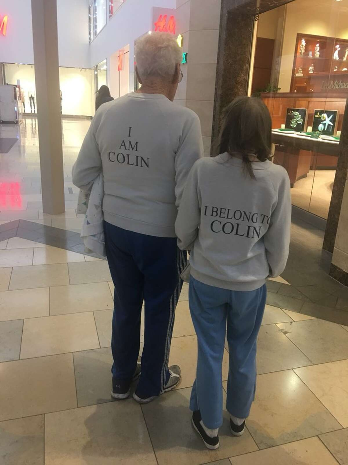 Hand-in-hand and often matching, Kittye and Colin were the power-walking power couple of North Star Mall who marched past storefronts daily, onto social media timelines and into thousands of romantic hearts that are now broken after learning one half of the duo has died.