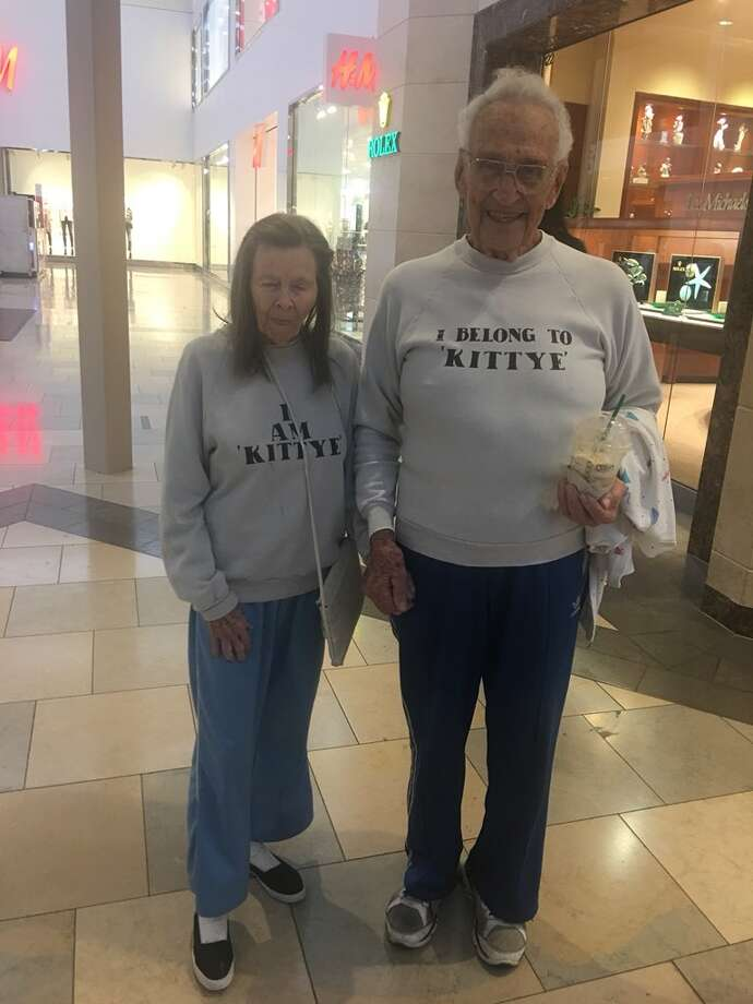 Hand-in-hand and often matching, Kittye and Colin were the  power-walking power couple of North Star Mall who marched past  storefronts daily, onto social media timelines and into thousands of  romantic hearts that are now broken after learning one half of the duo  has died. Photo: Courtesy, Camila Herrera