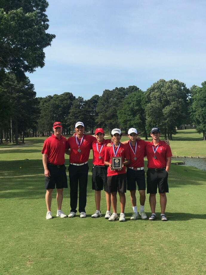 The Tomball boys team placed second at the District 20-5A Varsity Golf Boys Championship, April 9-11, at Montgomery.