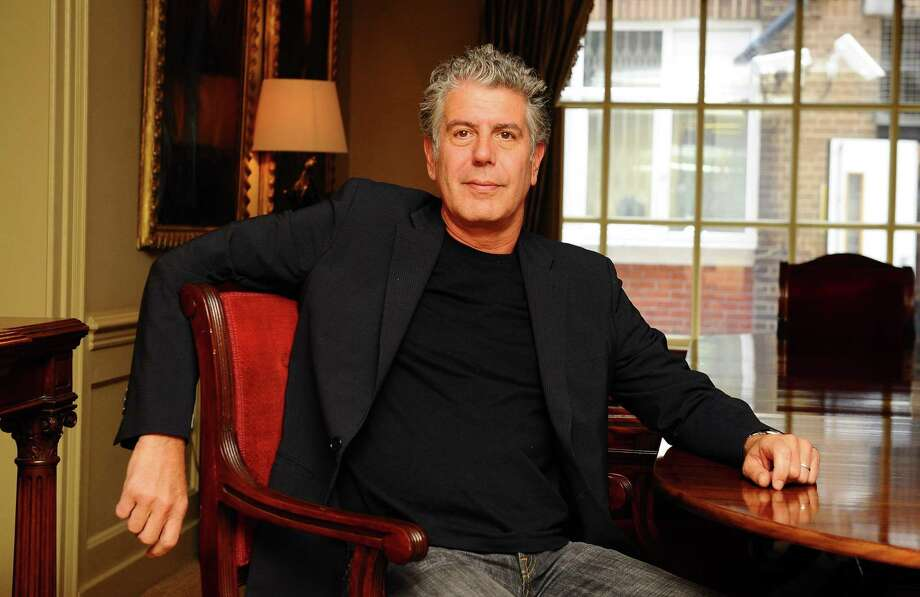 """Anthony Bourdain is photographed as he promotes his new book """"Medium Raw"""" at the Hazlitts club in London on Sept. 2, 2010. Bourdain was found dead in his hotel room of an apparent suicide last week at age 61. Photo: Ian West /PA Wire /TNS / Abaca Press"""