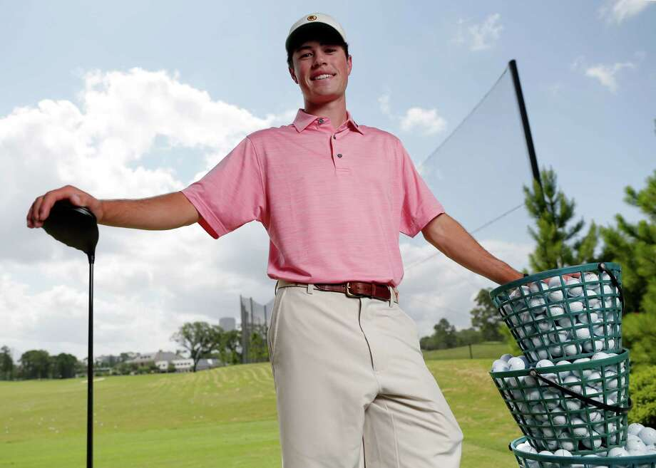 Cole Hammer of Kinkaid, the All Greater Houston male golfer of the year, at the River Oaks Country Club in Houston, TX Tuesday, May 31, 2018. (Michael Wyke / For the  Chronicle) Photo: Michael Wyke, For The Chronicle / © 2018 Houston Chronicle