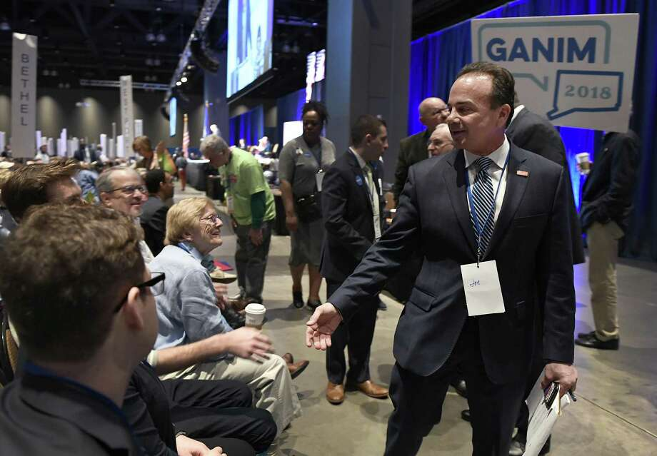 Bridgeport Mayor Joe Ganim says he has enough signatures to get on the Democratic primary ballot. Photo: Jessica Hill / Associated Press / AP2018