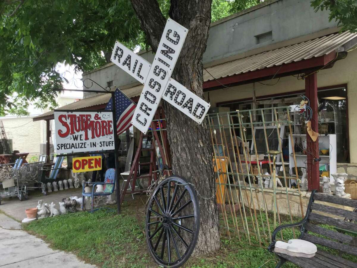 Antique hunters can easily spend hours browsing through Comfort?'s antique shops looking for treasures.