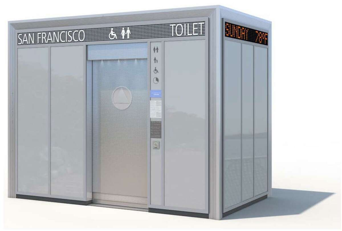 This boxy toilet design was rejected after going through several rounds of public review last year.