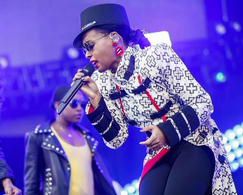 LOS ANGELES, CA - JUNE 02:  (EDITORIAL USE ONLY. NO COMMERCIAL USE) Janelle Monae performs onstage during the 2018 iHeartRadio Wango Tango by AT&T at Banc of California Stadium on June 2, 2018 in Los Angeles, California..  (Photo by Rich Polk/Getty Images for iHeartMedia ) Photo: Rich Polk, Getty Images For IHeartMedia