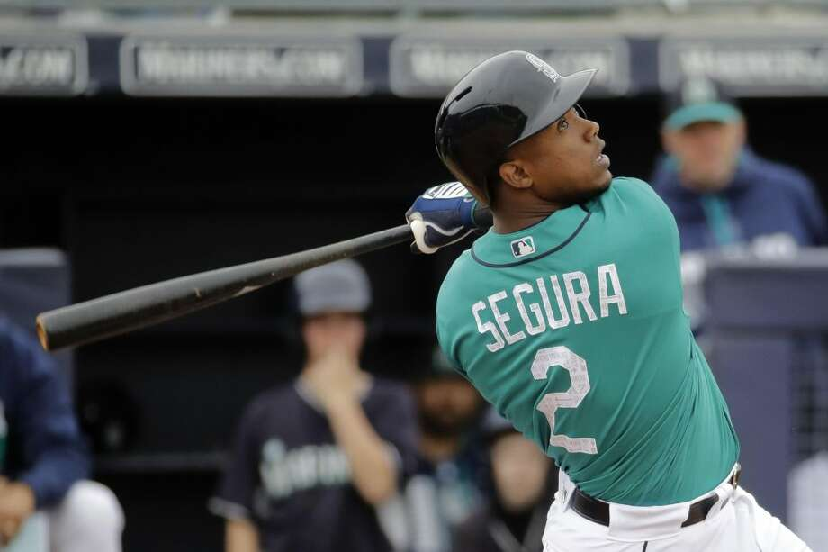 Mariners' shortstop Jean Segura secured his place on the All-Star Team Wednesday night with the Final Vote, having collected more than 13.6 million fan votes. Photo: Charlie Riedel / Copyright 2017 The Associated Press. All rights reserved.