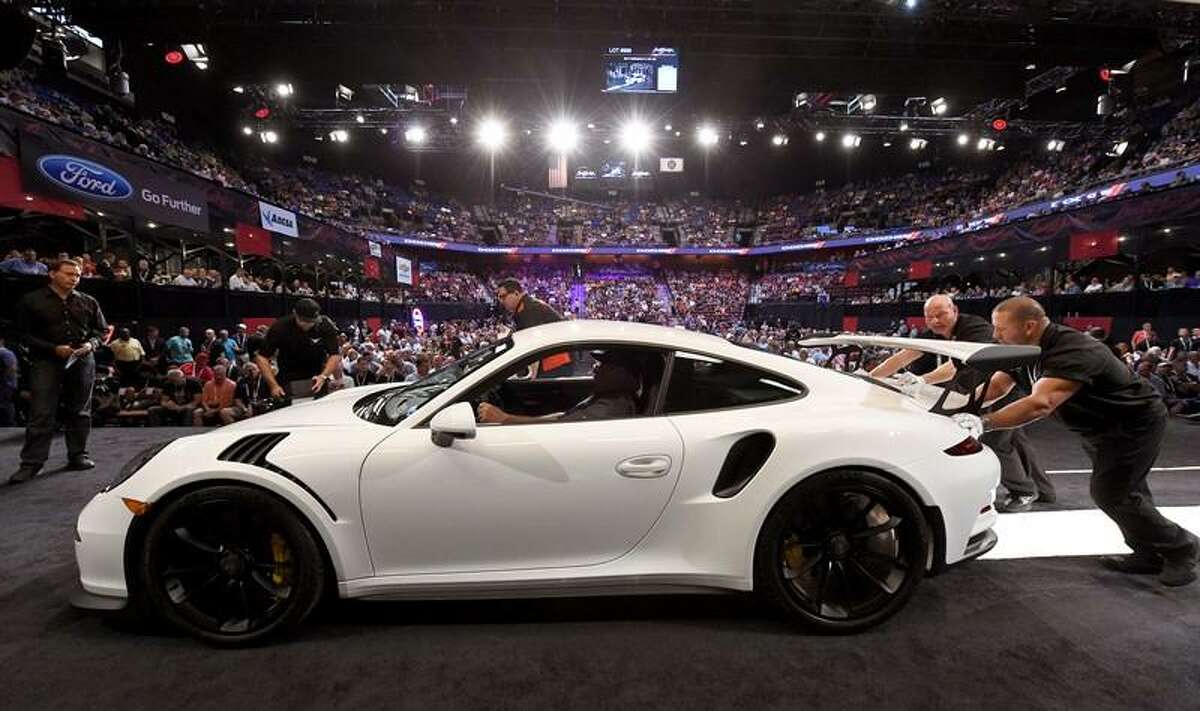 The annual Barrett-Jackson car auction week has taken over Mohegan Sun. You have untilSaturday to check it out.Find out more.