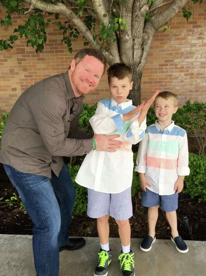 "Guy Walker, father of two including one on the autism spectrum, is one of several ""au-some"" fathers being honored June 16-17 on Hope For Three's Facebook, Facebook.com/HopeForThree."