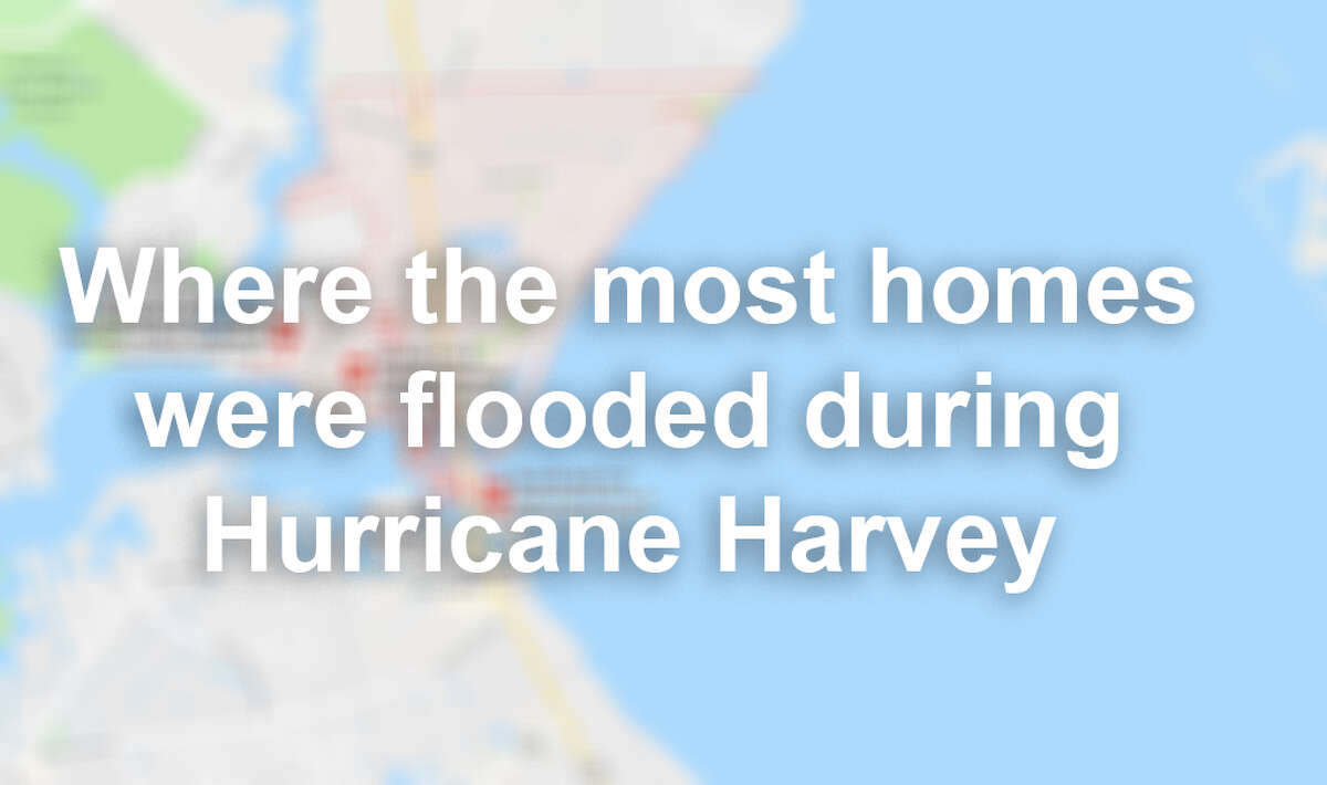 Swipe through to see what parts of Harris County had the most homes flooded during Hurricane Harvey, according to the Harris County Flood Control District.