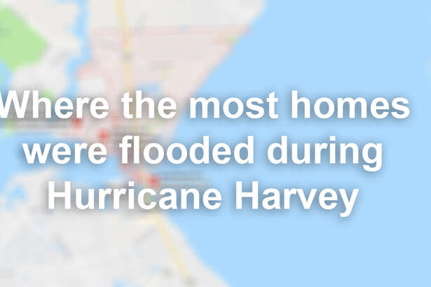 Swipe through to see what parts of Harris County had the most homes flooded during Hurricane Harvey.