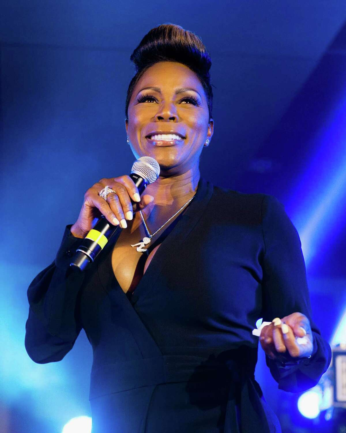 Stand-up comic Sommore served as host of BET's