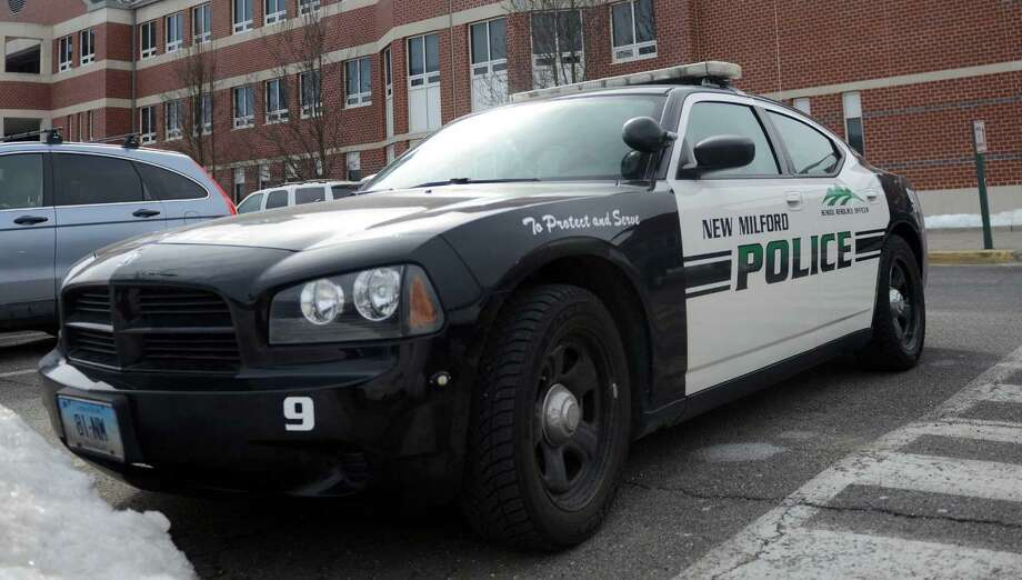 File photo: New Milford police car. Photo: Tyler Sizemore / Tyler Sizemore / The News-Times