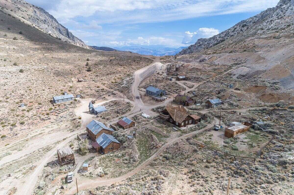The 19th-century mining town of Cerro Gordo and the surrounding 300 acres outside Lone Pine, Calif., is listed for $925,000.