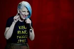 HOLLYWOOD, FL - FEBRUARY 04:  Comedian Lisa Lampanelli performs at Hard Rock Live at Seminole Hard Rock Hotel & Casino  Hollywood on February 4, 2017 in Hollywood, Florida  (Photo by Johnny Louis/FilmMagic)