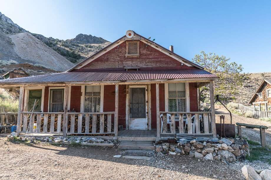 The 19th-century mining town of Cedro Gordo and the surrounding 300 acres outside Lone Pine, Calif., is listed for $925,000. Photo: Nolan Nitschke