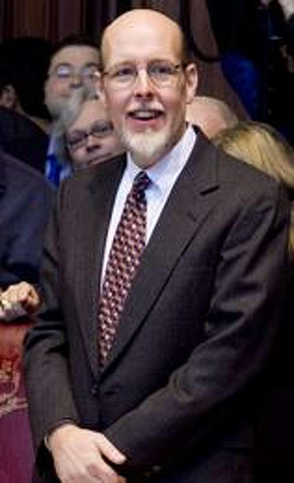 Sen. Joe Markley, R-Southington, is fighting state election regulators in Superior Court.