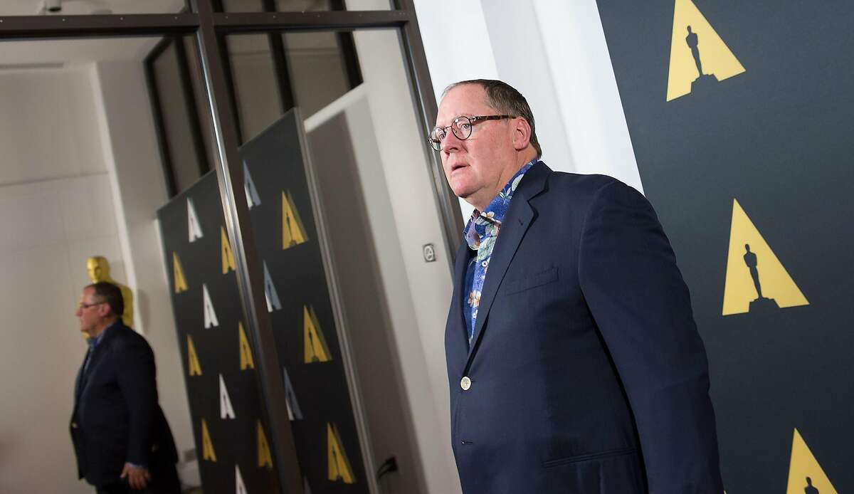 (FILES) In this file photo taken on September 17, 2015 Director John Lasseter attends The Academy of Motion Picture Arts and Sciences 42nd Student Academy Awards in Beverly Hills, California, on September, 17, 2015. Walt Disney Co animation head and co-founder of Pixar John Lasseter, will leave at the end of the year, the company said on Friday September 17, 2018. / AFP PHOTO / Valerie MACONVALERIE MACON/AFP/Getty Images