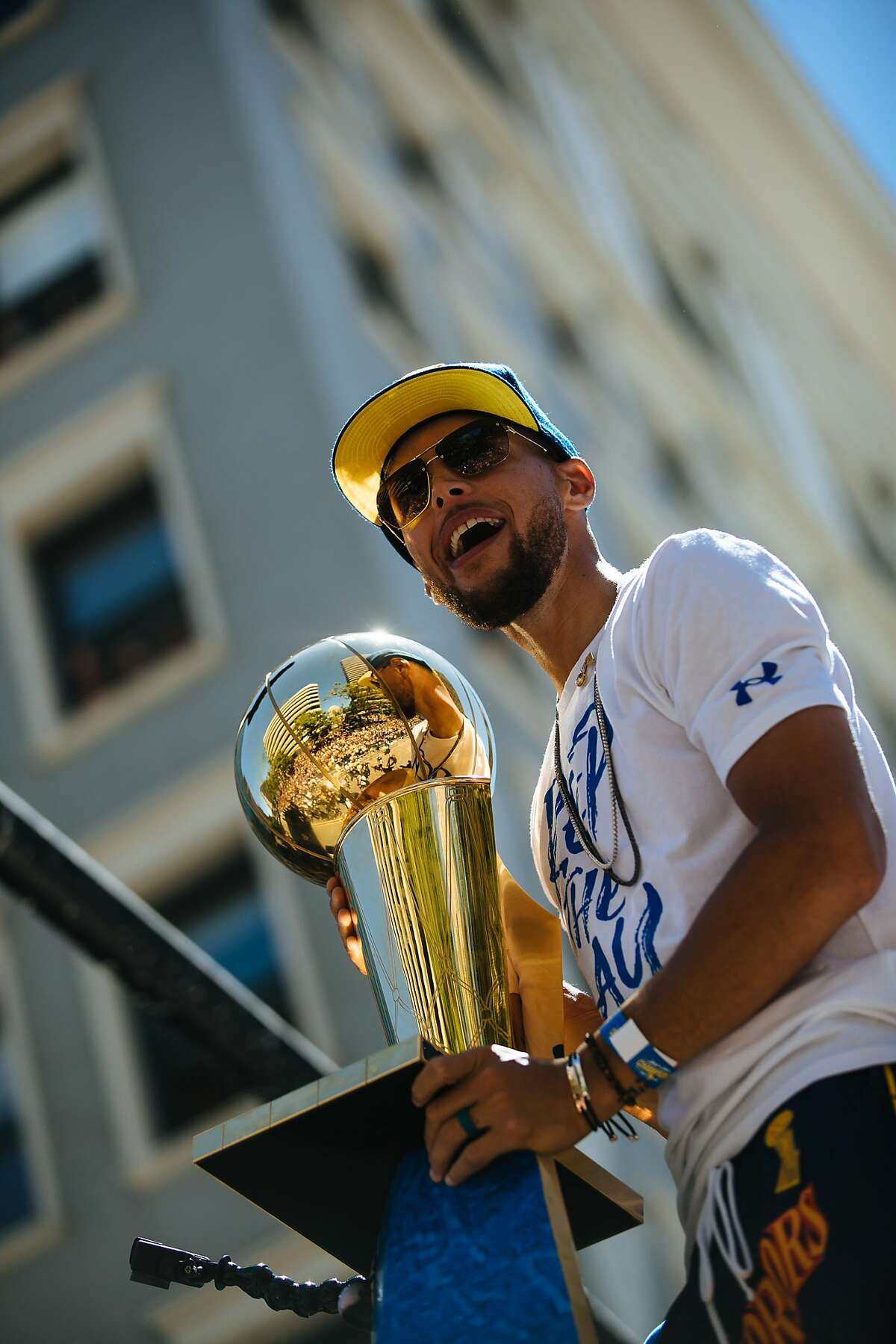 Steph Curry, born Wardell Stephen Curry II, was named after his father, Wardell Stephen Curry.