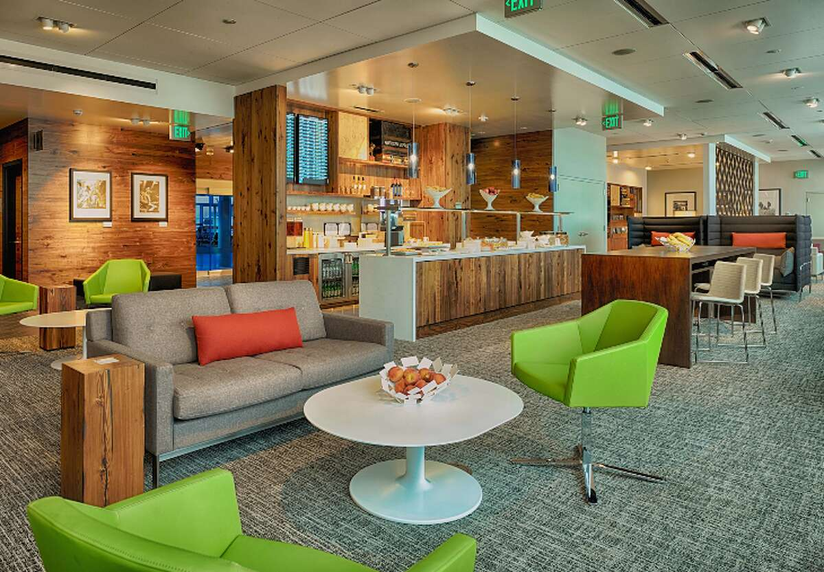 Seattle's new Centurion Studio- small but nice (Photo: American Express)