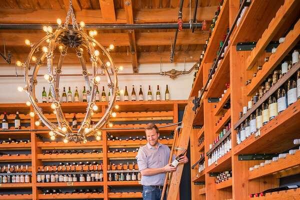 Les Marchands Restaurant & Wine Merchant in Santa Barbara.