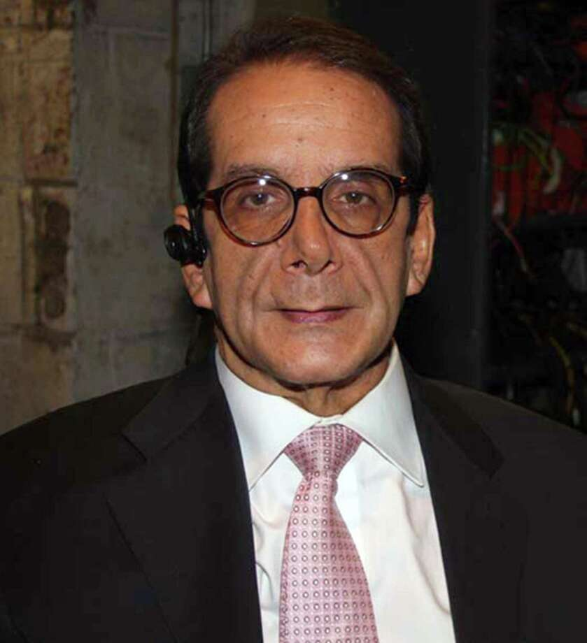 Washington Post columnist Charles Krauthammer in October 2013. He announced last week that he has weeks to live. Photo: William Regan /Globe Photos /TNS / Zuma Press