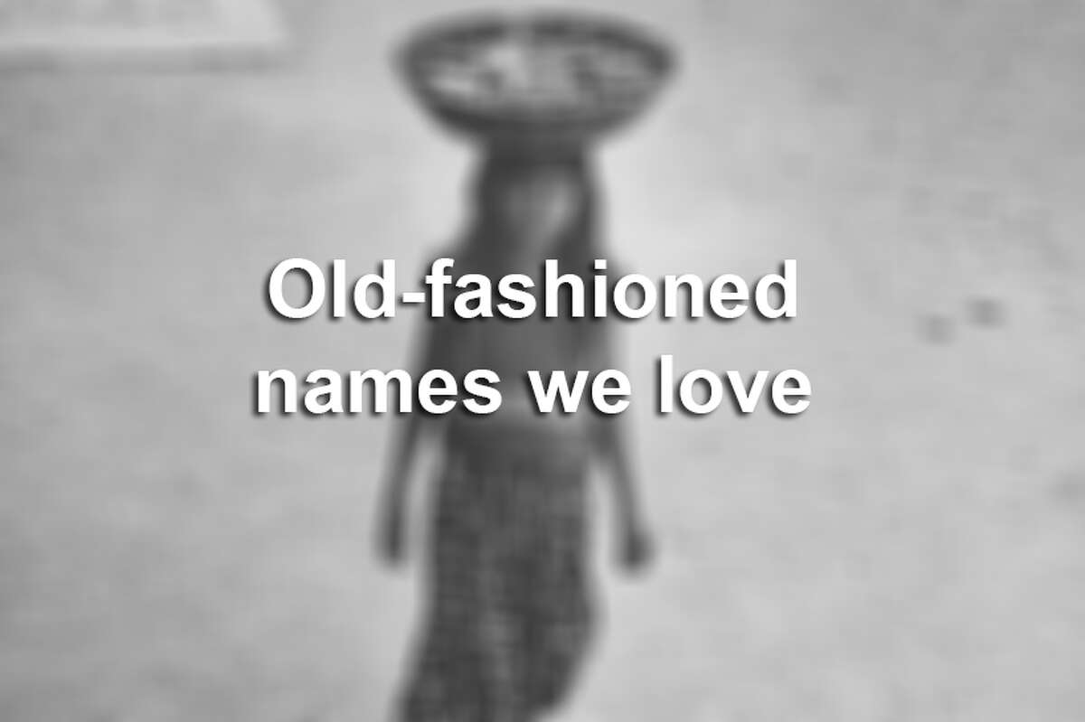 Old-fashioned names we love