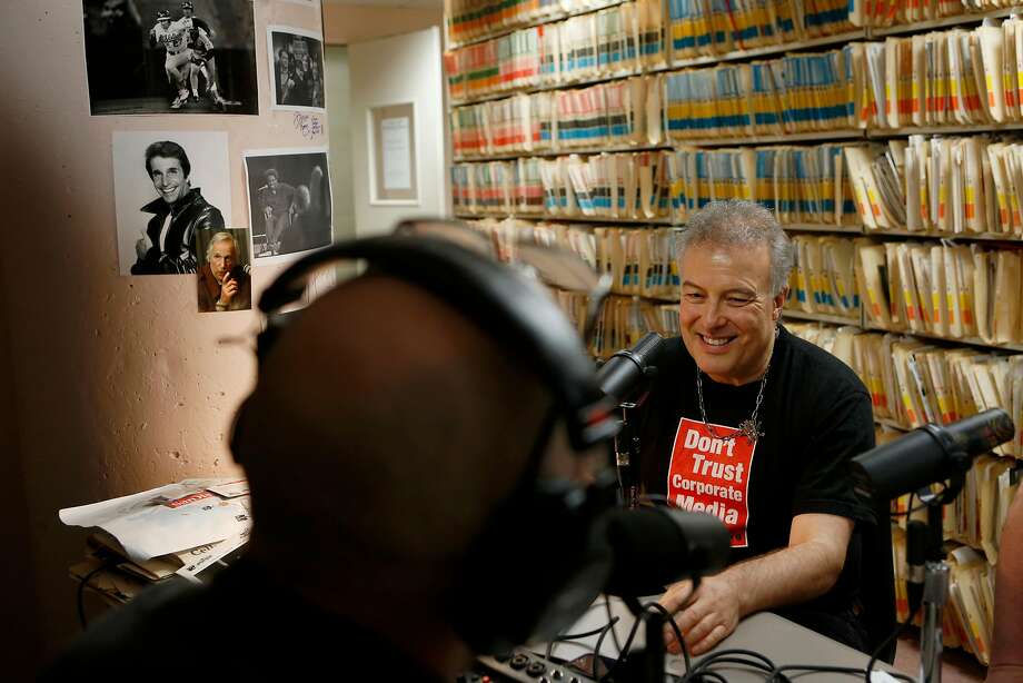 Jello Biafra spoke on The Big Event podcast on Monday, June 11, 2018 in San Francisco, Calif. He is celebrating his 60th birthday with a Great American Music Hall show on Sunday. Photo: Liz Moughon, The Chronicle