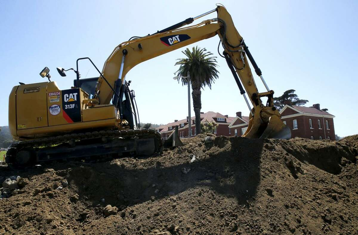 Right now, the Presidio Tunnel Tops location is a construction site. The plan is for it to bloom into a park, with native plants and beautiful views.