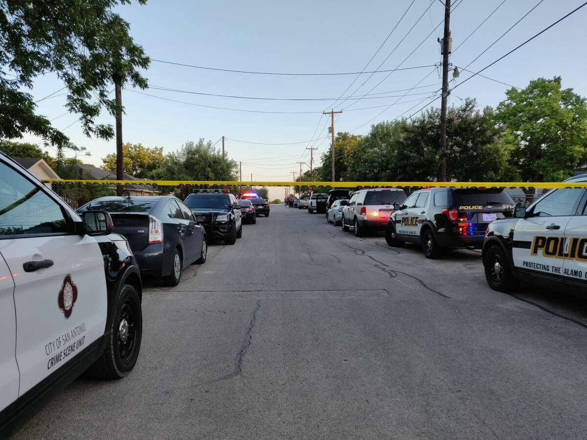San Antonio police said a man was fatally shot in the 2600 block of Bermuda about 6:40 p.m., Tuesday, June 12, 2018.