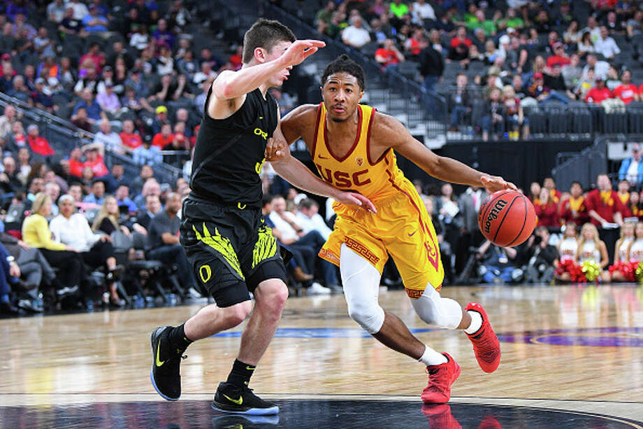 OLLEGE BASKETBALL: MAR 09 PAC-12 Tournament - Oregon v USC