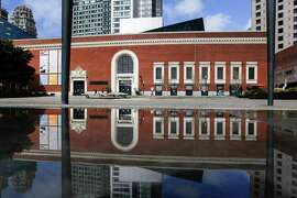 The Contemporary Jewish Museum in San Francisco's Jessie Square.