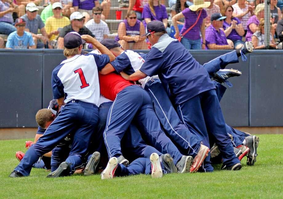 USA 11, Plymouth Christian 2 Photo: Mike Gallagher/Huron Daily Tribune