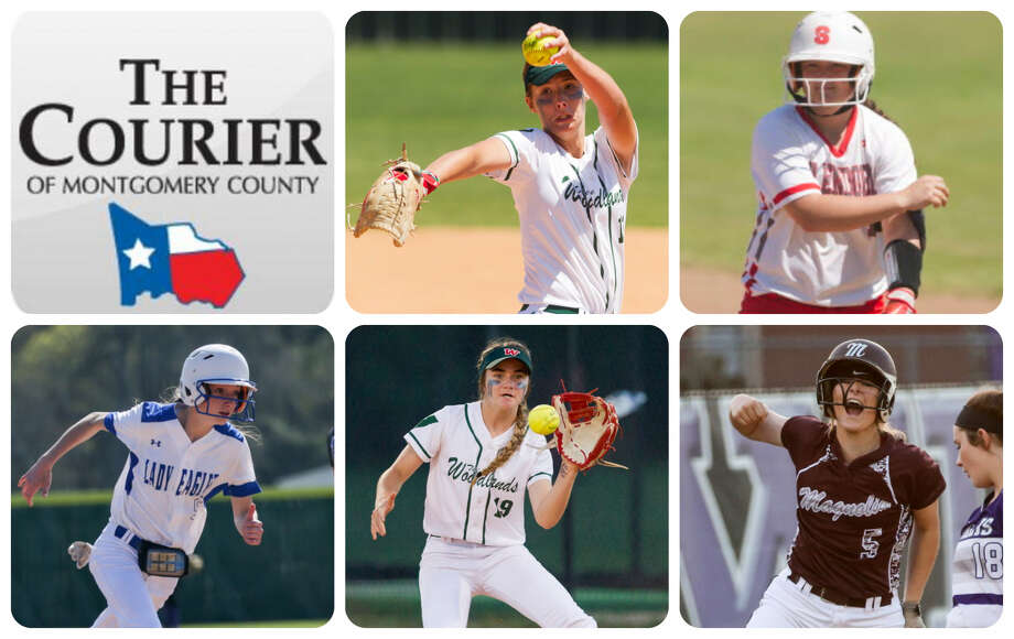 The Woodlands' Emiley Kennedy, Splendora's Leah Hensarling, New Caney's Erin Plunkett, The Woodlands' Kayla Falterman and Magnolia's Julia Herzinger are The Courier's nominees for Newcomer of the Year.