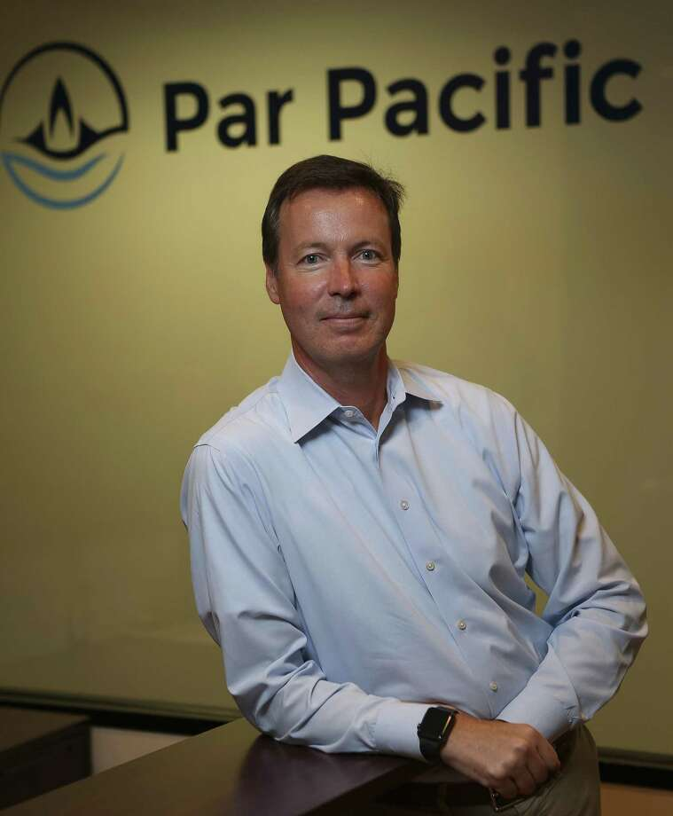 William Pate, CEO of Par Pacific Holdings, in their Houston office, Monday, May 21, 2018.  ( Mark Mulligan / Houston Chronicle ) Photo: Mark Mulligan,  Houston Chronicle / Houston Chronicle / © 2018 Houston Chronicle