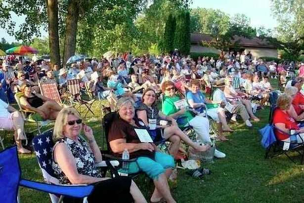 The crowd at a recentClassic Country Music Reunion. (photo provided)