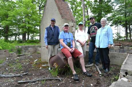 The Norwalk Land Trust group on Hoyt Island between Wilson Point and Village Creek on Wednesday June 6, 2018 in Norwalk Conn.  Photo: Alex Von Kleydorff / Hearst Connecticut Media / Norwalk Hour