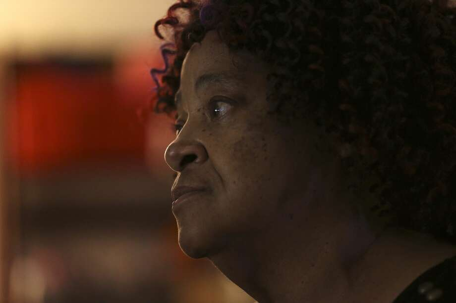 Carita Thomas, 69, talks about her experience growing up in Alabama, during an interview at her Northwest San Antonio home, Tuesday, May 22, 2018. Thomas was fourteen-year-old  when 16th Street Baptist Church was bombed on September 15, 1963. She was on the third floor of the church when the explosion went off. Photo: JERRY LARA/San Antonio Express-News