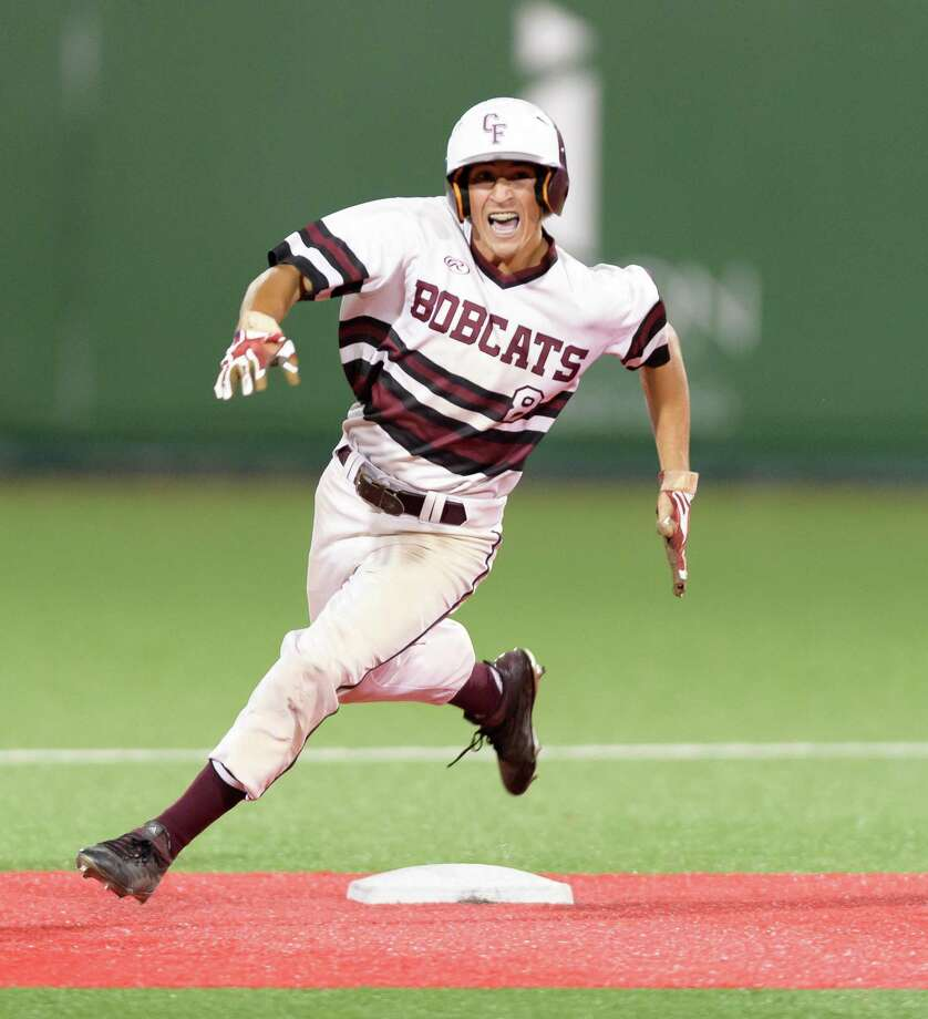 Cy Fair junior shortstop Peyton Chatagnier (8), University of Mississippi commit, was unanimously selected Most Valuable Player in voting by league coaches on the 17-6A All-District team. Teammate senior Blake Wilson, Western Texas College signee, was named Pitcher of the Year. Photo: Wilf Thorne / For The Chronicle / © 2018 Houston Chronicle